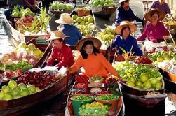 Private Tour: mercado flutuante e Rose Garden Tour de Bangkok