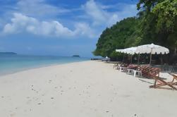 Excursión de un día a la isla privada con el almuerzo desde Phuket