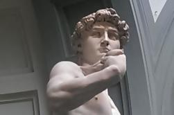 Small-Group Hoogtepunten van Florence Walking Tour Inclusief Accademia of Uffizi Guided Tour