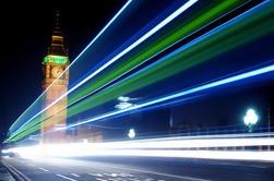 Excursão da fotografia de Londres na noite