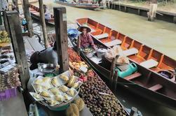 Private Tour: Mercados Flutuantes de Damnoen Saduak Cruise Day Trip de Bangkok