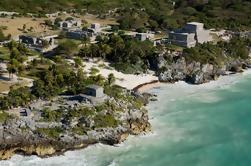 4-en-1 Excursión de un día: Ruinas de Tulum, Tulum Beach, Coba y