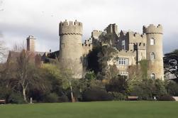 Tour combinado: Castillo de Malahide y Tour nocturno de Dublín de 1 hora en autobús