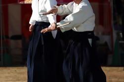 Lección de Aikido de medio día de un maestro en Tokio