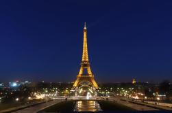 Saltar la línea: Tour de la Torre Eiffel por la noche