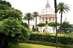 Tour exclusivo de media jornada del Vaticano con desayuno y jardines