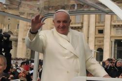 Bilhetes e apresentação do público papal