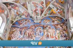 Viator VIP: Vista de la Capilla Sixtina y Vaticano