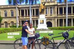 Tour histórico de la bici de Honolulu