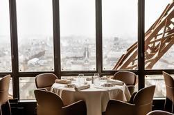 Experiencia Michelin de la Torre Eiffel en el restaurante Le Jules Verne