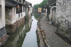 Medio día Zhouzhuang Water Village