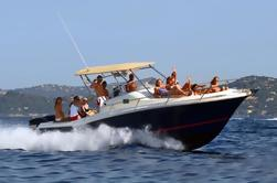 Paseo en barco privado en el sur de Menorca