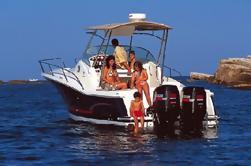 Paseo en barco privado de Menorca del Norte