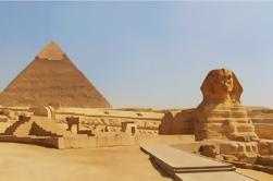 Dia inteiro para descobrir Cairo Sightseeing Pirâmides de Gizé Museu Egípcio e Jantar Cruzeiro no Nilo