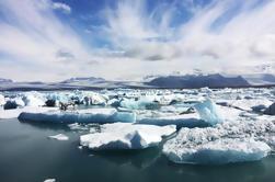 Excursión de un día a la Costa Sur y Laguna de Glaciares en Super Jeep de Reykjavik