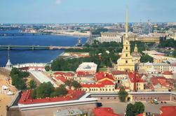 Excursão de costa de St Petersburg: Excursão da cidade com museu do eremitério e Peterhof