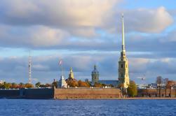 Excursão da costa de St Petersburg: Excursão da cidade com a fortaleza de Peter e de Paul e Gostiny Dvor