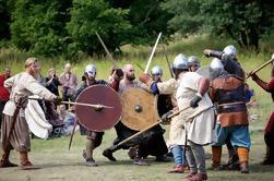 Birka la ciudad de Viking - viaje del barco y de la caminata