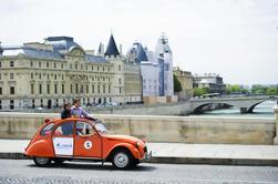 Vintage 2CV Traslado al Lido de Paris