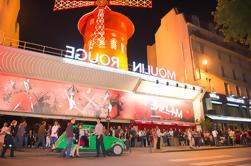 Vintage 2CV Traslado al Moulin Rouge