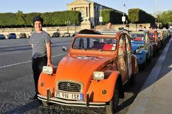 Tour Privado: Tour en tamaño natural del monopolio de París por Citroën 2CV