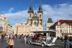 Excursão Privada de Bicicleta de Cerveja de Praga