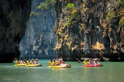 Canoa de día completo en la Bahía de Phang Nga