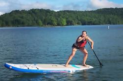 Lição de Paddle Board Summersville Lake WV