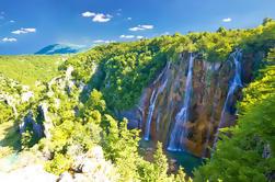 Zagreb a Split traslado privado con Plitvice Lakes