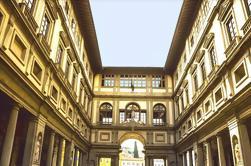 Tarde Visita de la Galería de los Uffizi en Grupo Pequeño