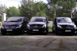 Ibiza Mercedes Benz Van con Chófer Hablante Inglés