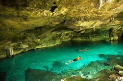Cenote Dos Ojos Tour Odyssey Maya en Playa del Ca