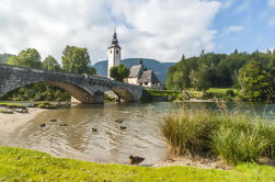 Bled und Bohinj See Biketour aus Ljubljana