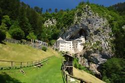 Postojna Höhle und Predjama Burg Radtour aus Ljubljana