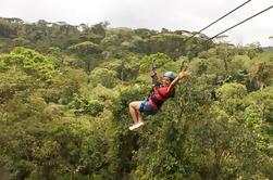 Rainforest Adventure Combo Tour de San José