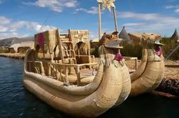Excursión de un día al lago Titicaca y las islas Uros desde Puno