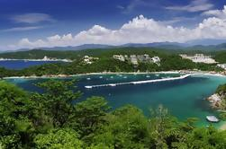 Bahía de Huatulco con paseo en catamarán y playa