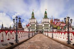 Mercado de pulgas y Kremlin en Izmailovo más Vodka Tour
