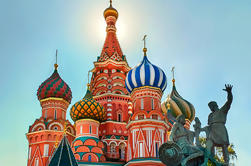Ônibus da cidade ou passeio de carro para Moscou incrível