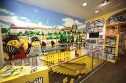 Boleto de entrada al museo Lego en Praga