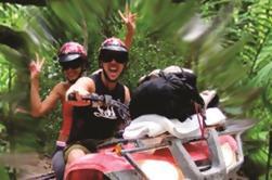 Combo Adventure Tour: Snorkel, Zipline, VTT et Ce