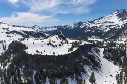 Paquete de picnic en helicóptero: Tour de volcán y almuerzo de picnic