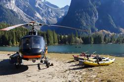 Excursión en helicóptero y día de pesca