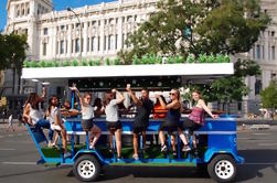 Beer Bike Guided Tour in Madrid