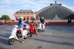 Vespa guidata o Self-Guided Tour a Madrid