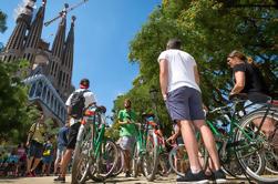 Excursión en bicicleta por la ciudad de Barcelona