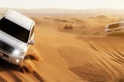 Thrilling Dubai Desert Dune Bashing su Red dune con cena a buffet
