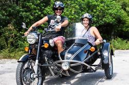 Cozumel Excursión de un día en una motocicleta Sidecar