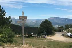 Tour guiado en bicicleta por las montañas de Niza