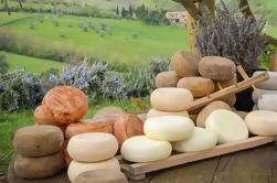 Experiência Degustação de Queijos e Chocolate no Campo da Toscana